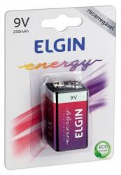 Bateria Recarregável Elgin 1 Un