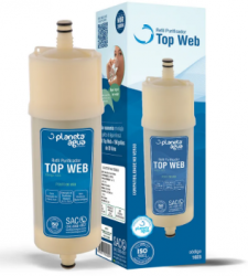Refil Filtro Top Web para Purificador de Água