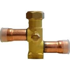 Válvula de serviço p/ condensador 7/8 (solda)