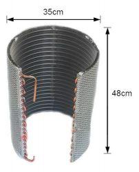 Serpentina condensadora barril 9000BTUs a 12000BTUs cobre